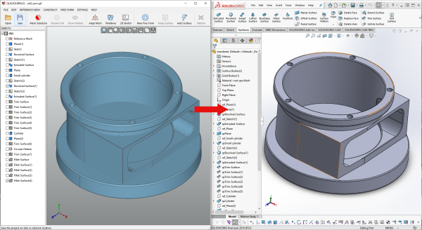 Seamlessly Connect to SOLIDWORKS®